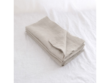 Pure French linen napkins in Natural (set of 4)