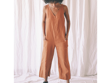 Scout Jumpsuit in Ochre
